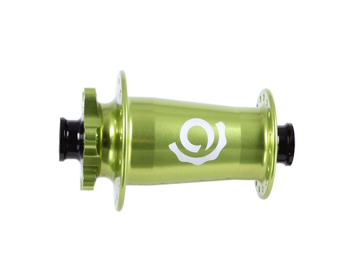 Industry Nine Torch Front Thru Axle Hub (Lime) (15 x 110mm) (Boost) (32H)
