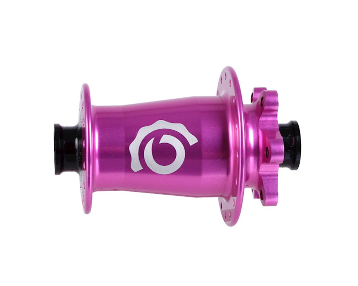 Industry Nine Torch Front Thru Axle Hub (Pink) (15 x 100mm) (32H)
