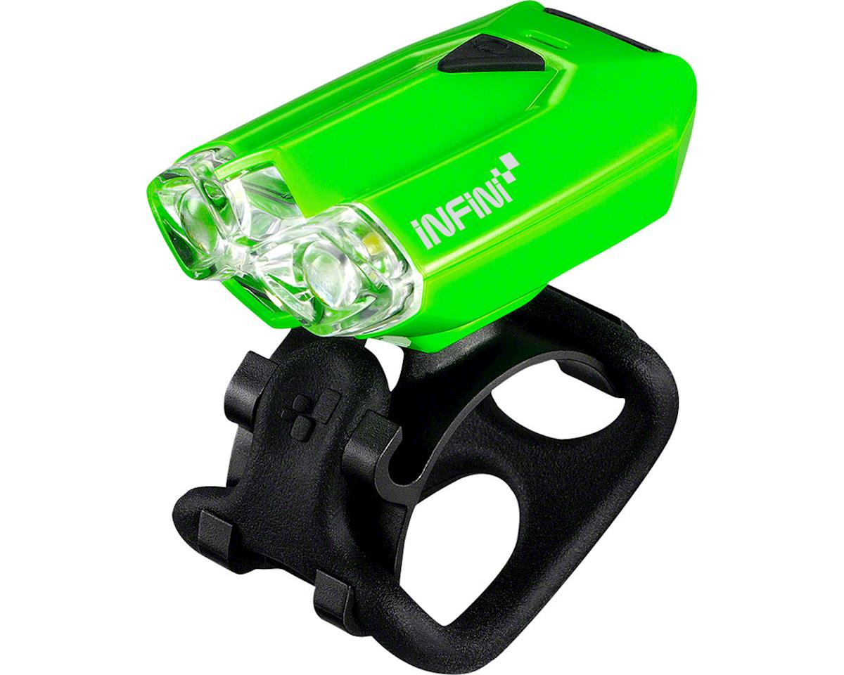 Lava USB Rechargeable Headlight: Green