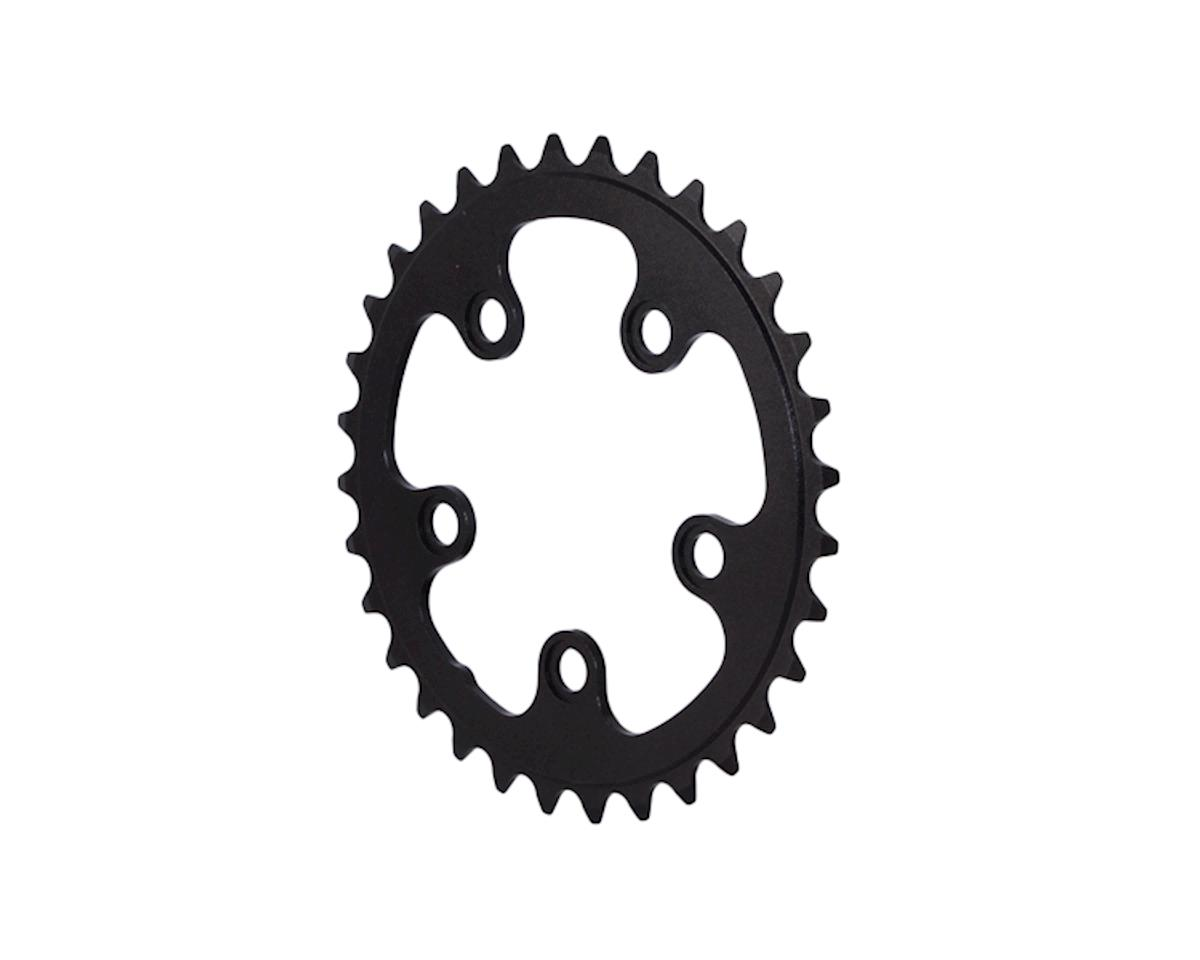 Interloc Racing Design Lobo Chainring (Black) (74 BCD)