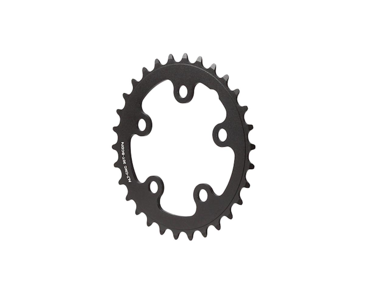 Interloc Racing Design Lobo Chainring (Black) (74 BCD) (30T)