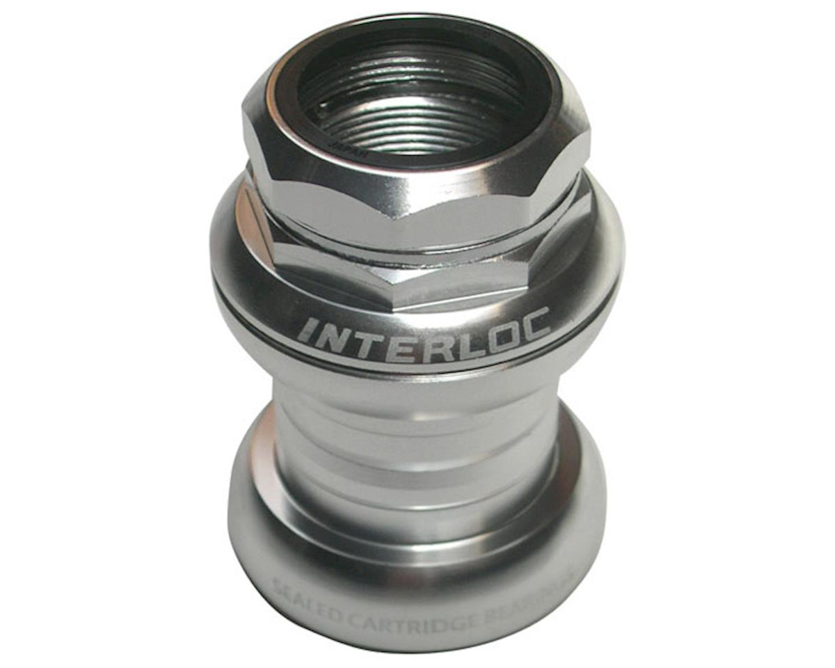 "Interloc Racing Design Techno-Glide Headset (Silver) (1"" Threaded)"