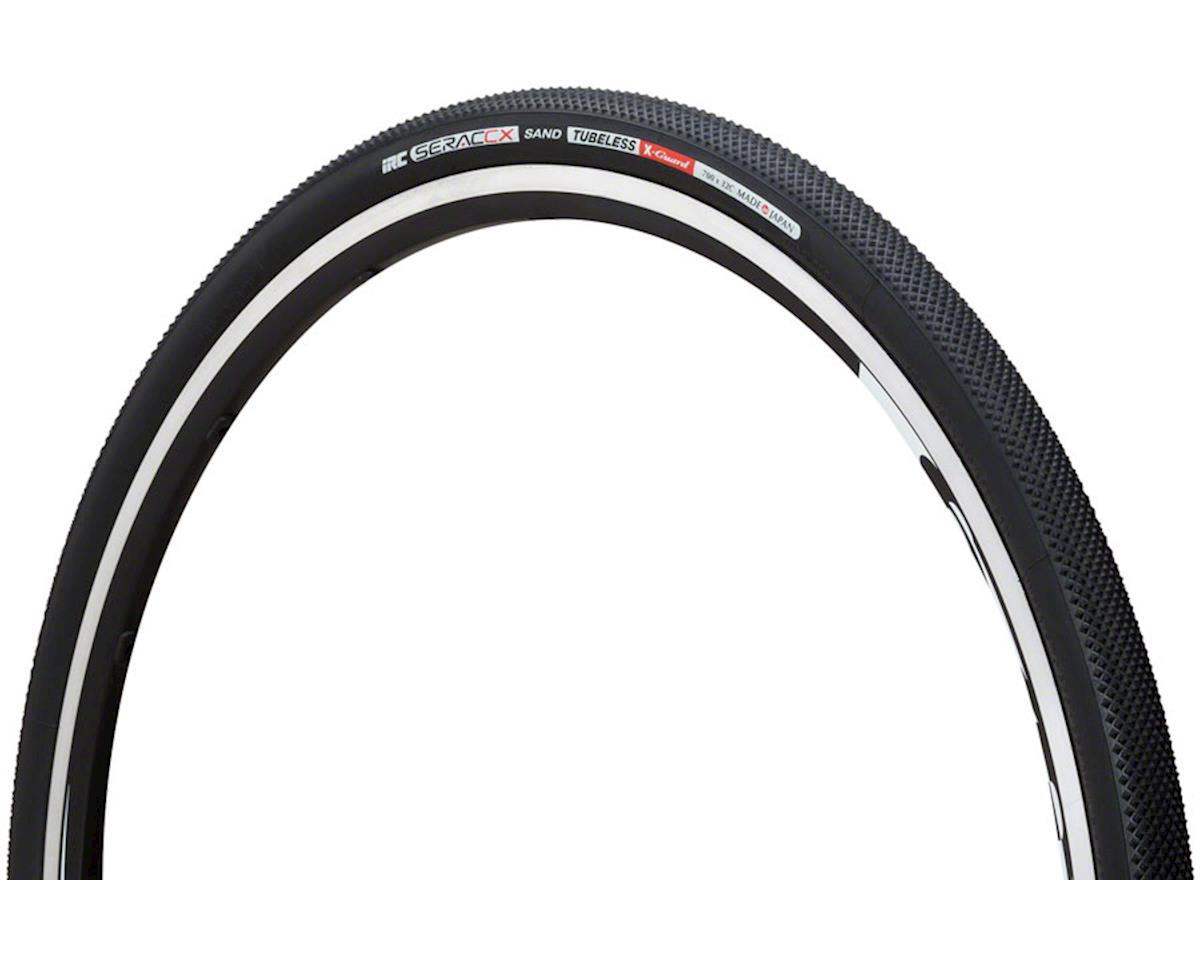 IRC Serac CX Sand Tubeless Tire (X-Guard Compound) (Black)