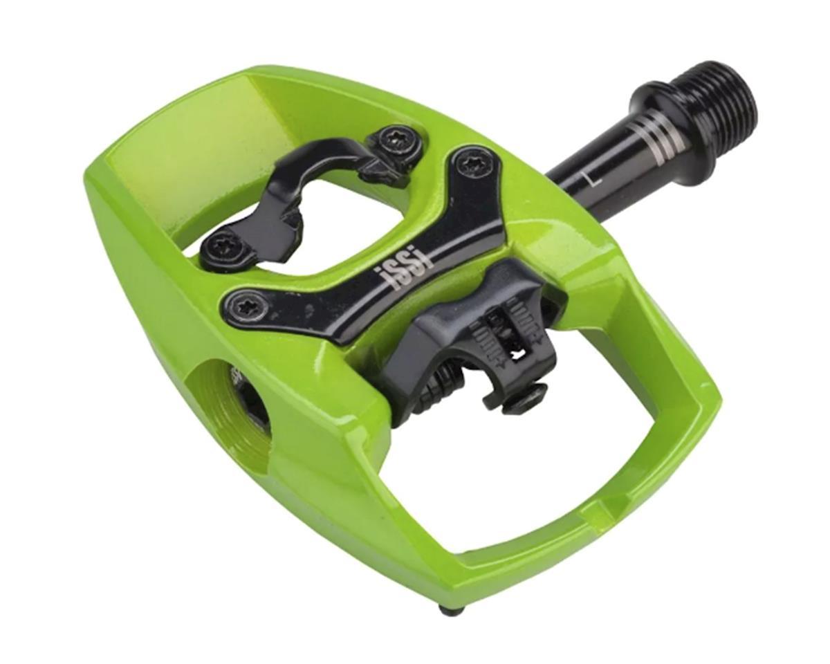 iSSi Flip III Aluminum Pedals (Lime Green)