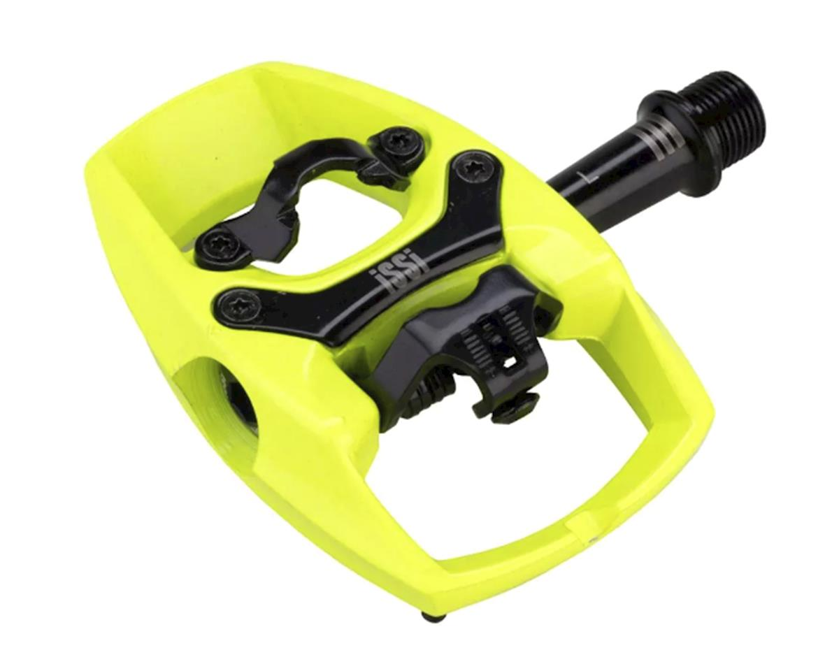 "iSSi Flip III Pedal (Hi-Vis Yellow) (Aluminum) (9/16"" Spindle)"