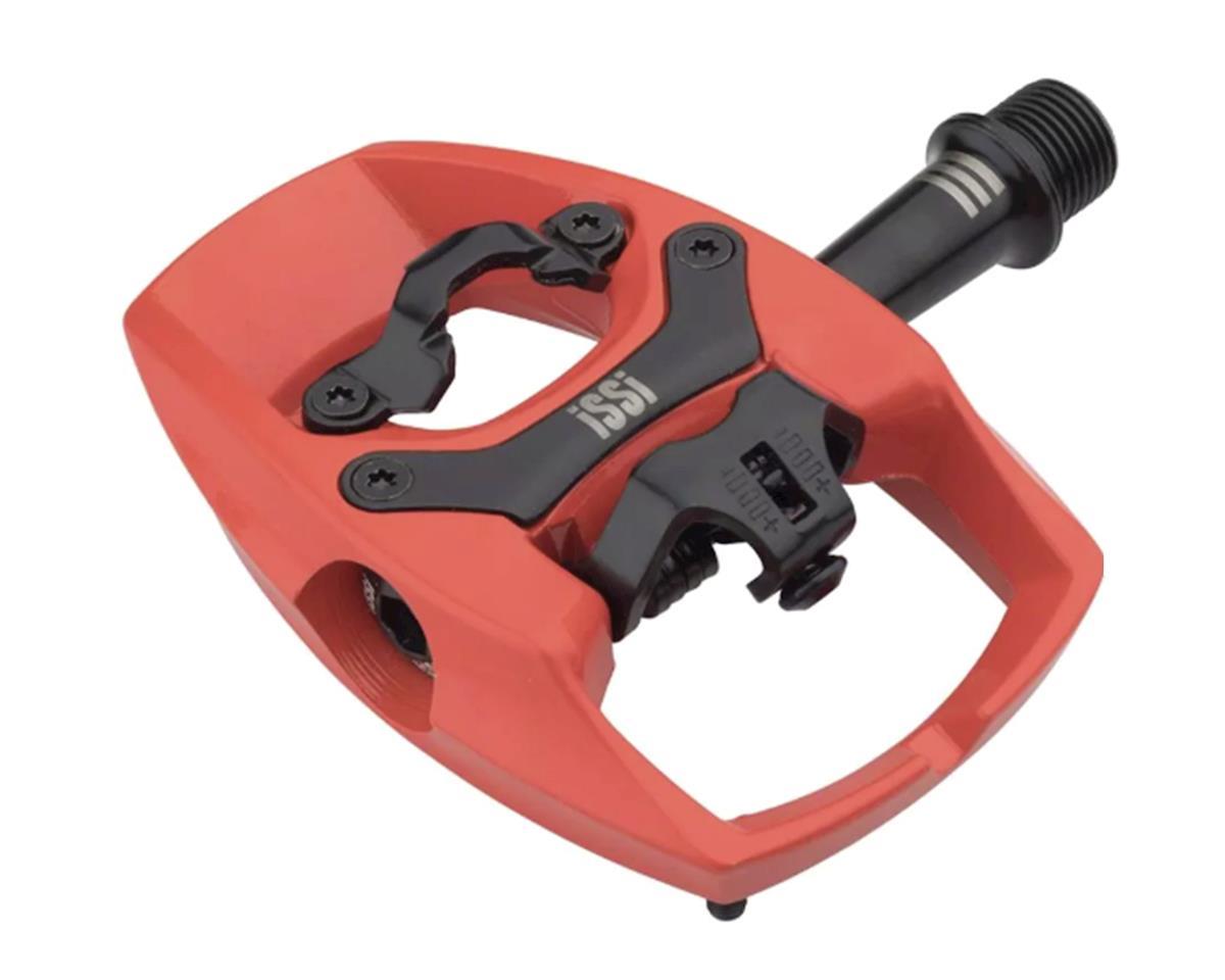 "iSSi Flip III Pedals (Lava/Red) (Aluminum) (9/16"" Spindle)"