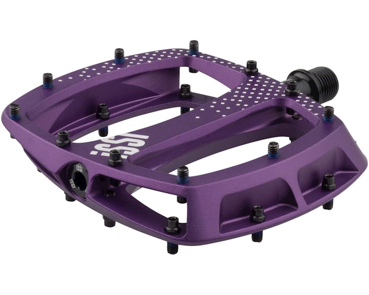 "iSSi Stomp XL Flat Pedals (Plum - Sandblasted Anodized) (9/16"")"