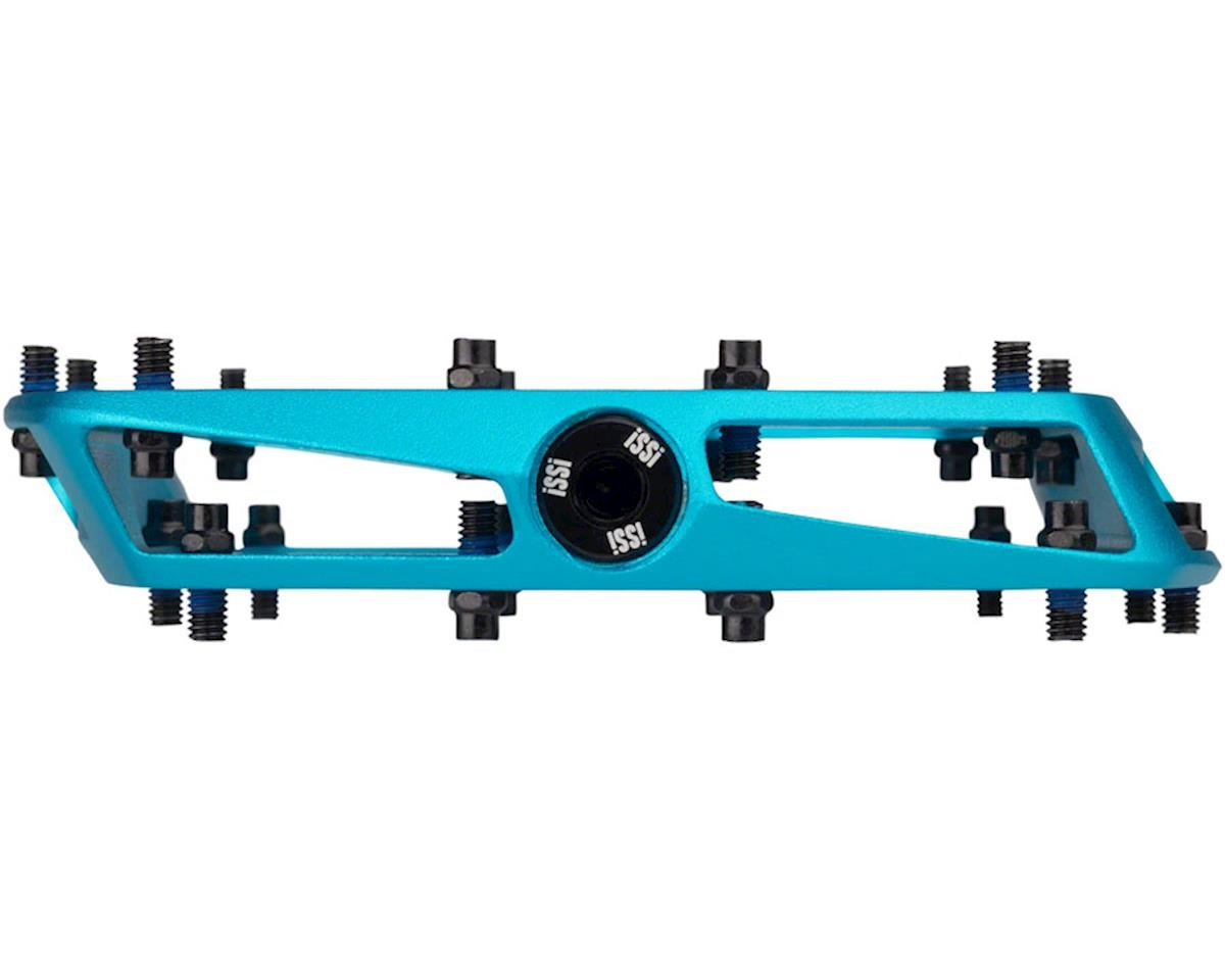 "iSSi Stomp XL Flat Pedals (Blue - Sandblasted Anodized) (9/16"")"
