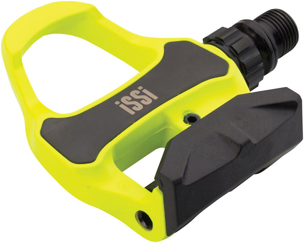 iSSi Road Pedals (Hi-Vis Yellow) (Carbon)
