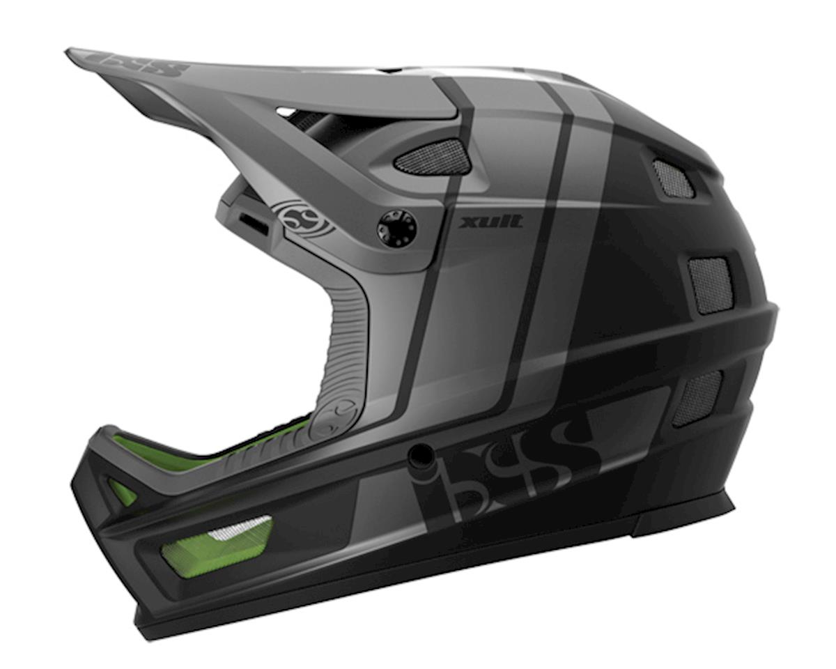 Xult Men's Full Face MTB Helmet (Black/Silver)