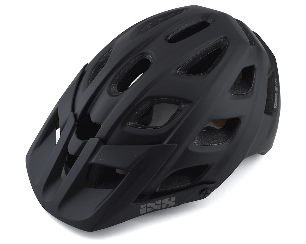 iXS Trail Evo Mountain Bike Helmet (Black) (M/L)