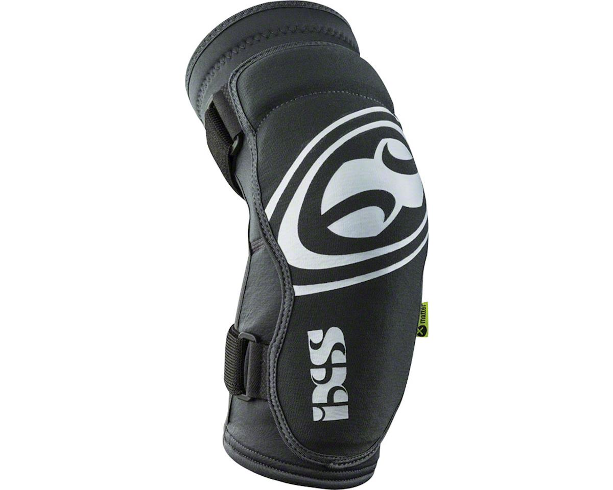 iXS Carve EVO Elbow Pad: Gray/Black, SM