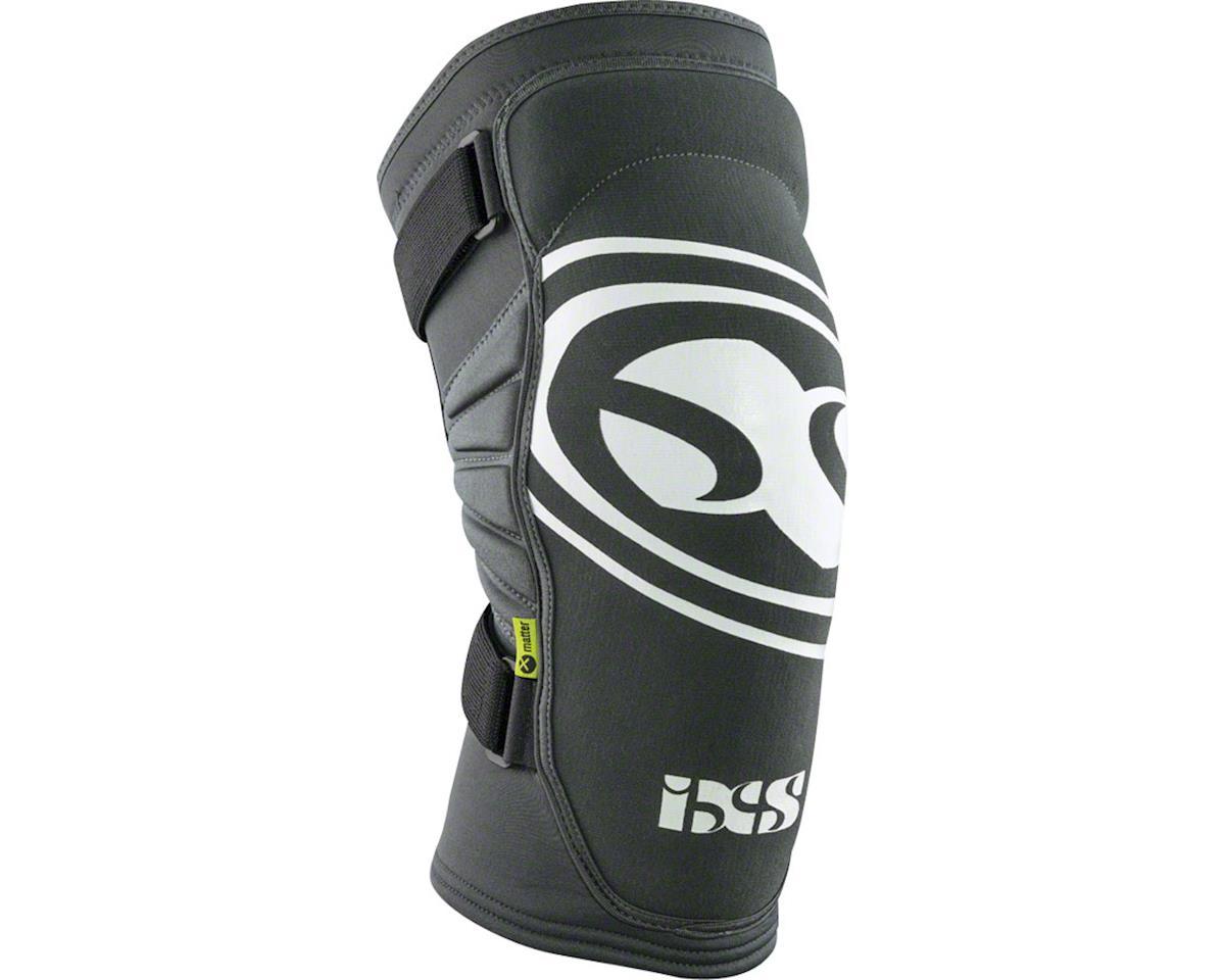 iXS Carve EVO Knee Pad: Gray/Black, XS (M)