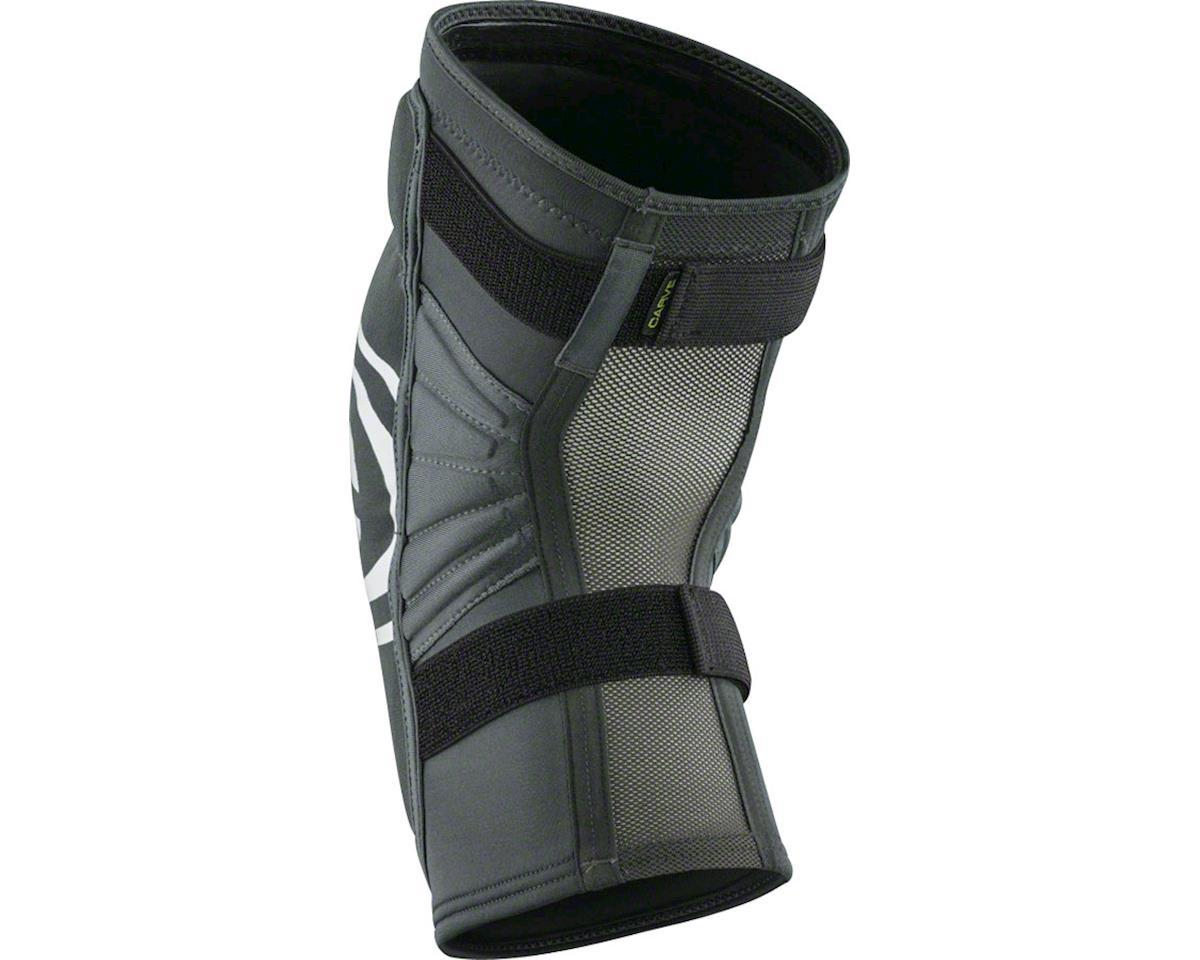 iXS Carve EVO Knee Pad: Gray/Black, XL (M)