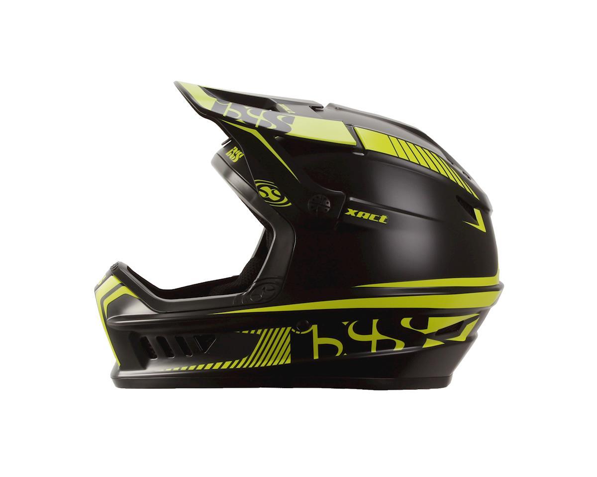iXS Xact Mountain Bike Helmet (Black/Green) (M/L)