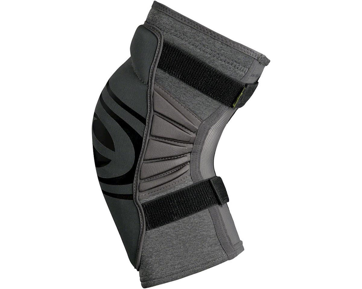 iXS Carve Evo+ Knee Pads: Gray XL (S)
