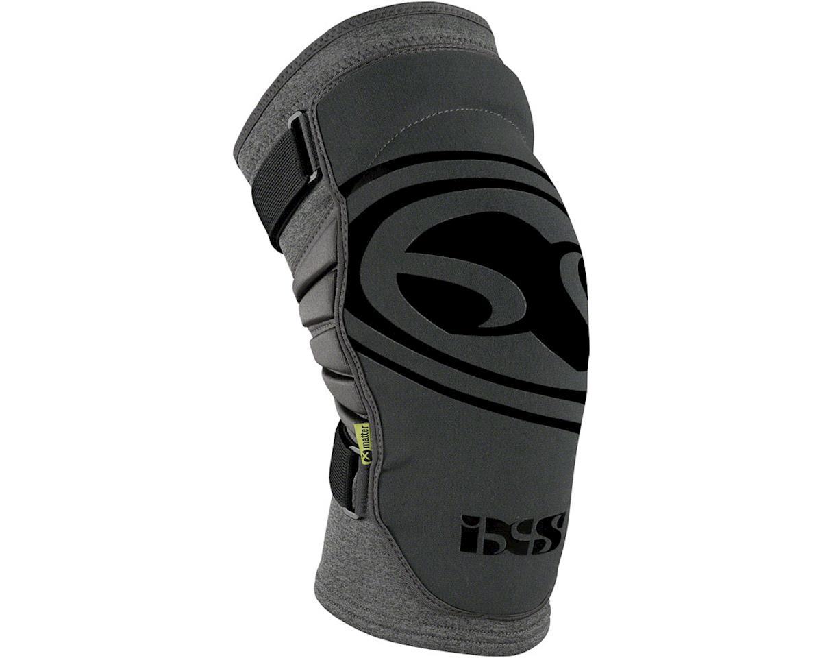 iXS Carve Evo+ Knee Pads: Gray XL (M)