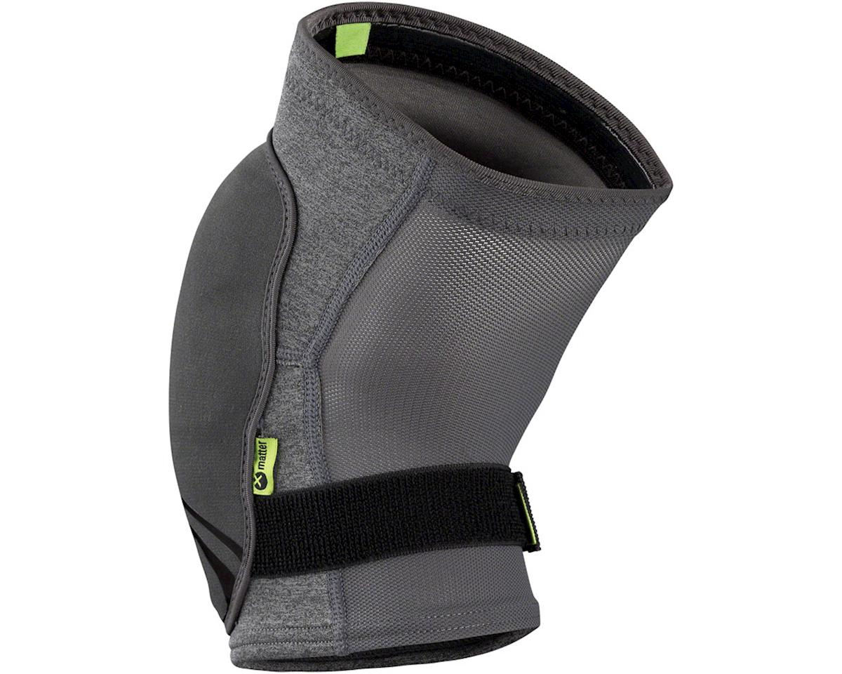 iXS Flow ZIP Knee Pads (Gray) (M)