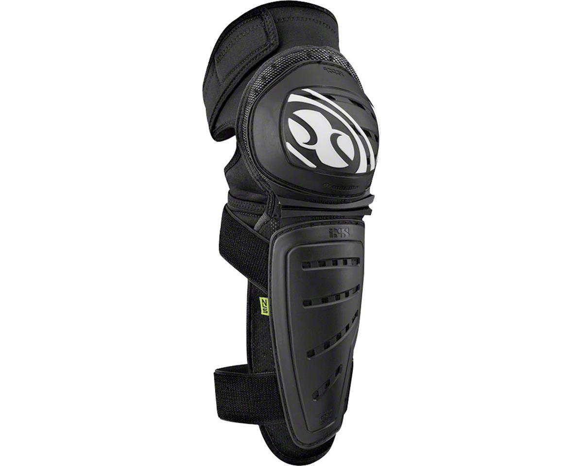 iXS Mallet Knee/Shin Guard: Black, XL (L)