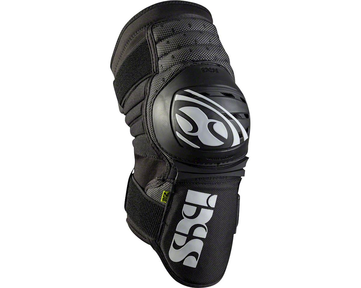 iXS Dagger Knee Guard: Black, XL (L)
