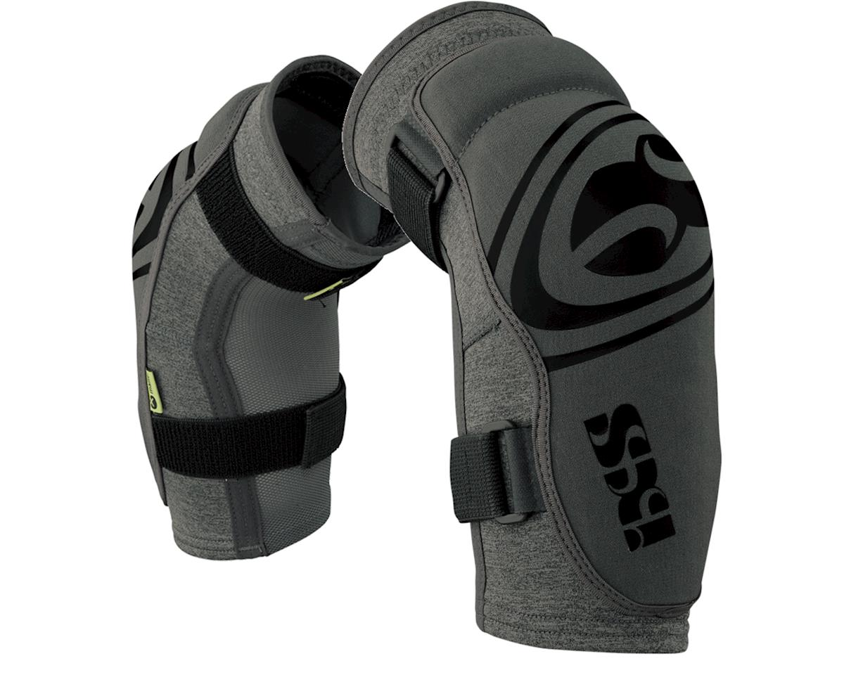 iXS Flow Evo+ Elbow Pads: Gray XL (M)