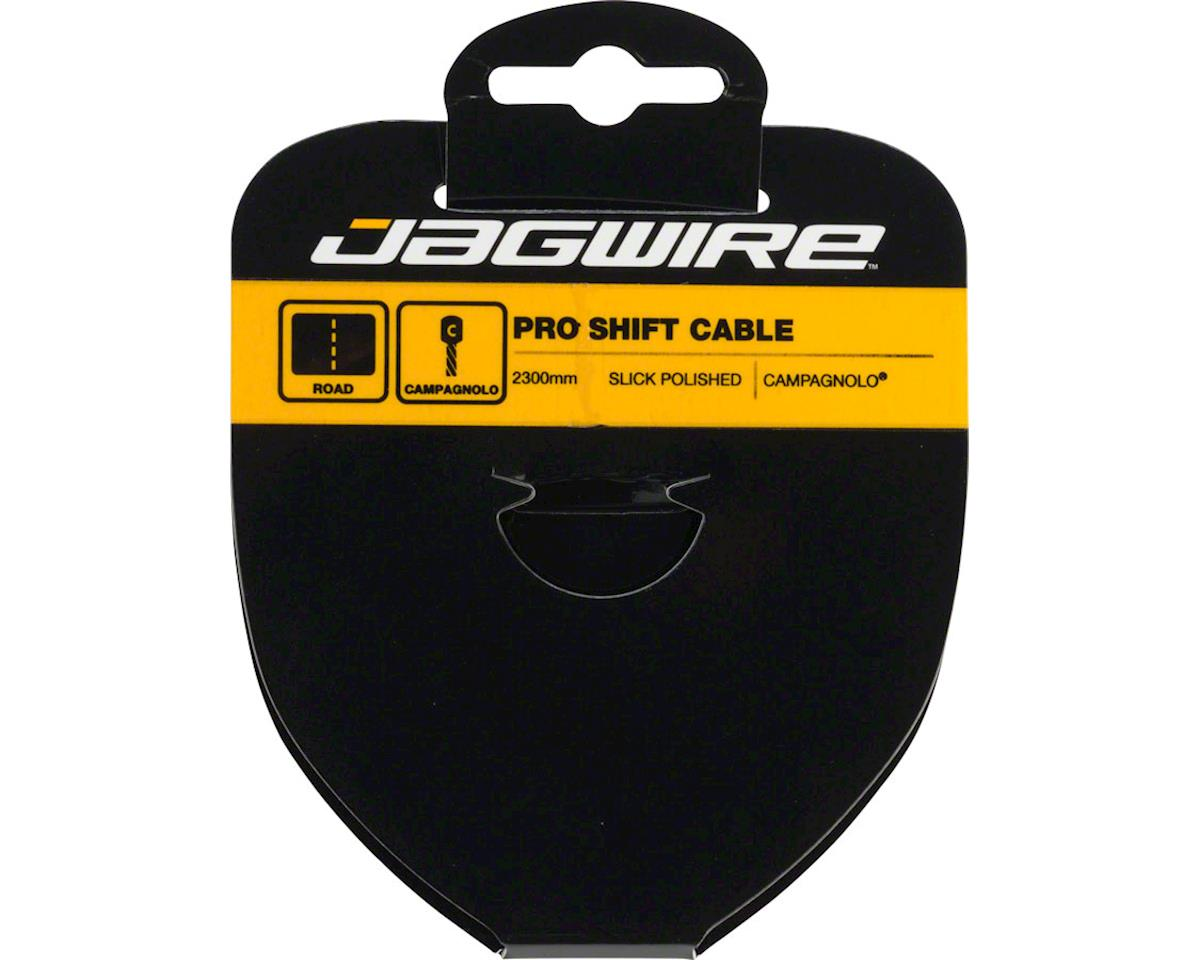 Jagwire Pro Polished Slick Stainless Derailleur Cable 1.1x2300mm Campagnolo