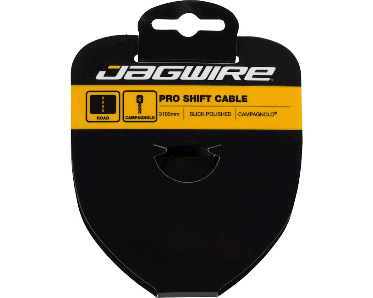 Jagwire Pro Polished Slick Stainless Derailleur Cable 1.1x3100mm Campagnolo