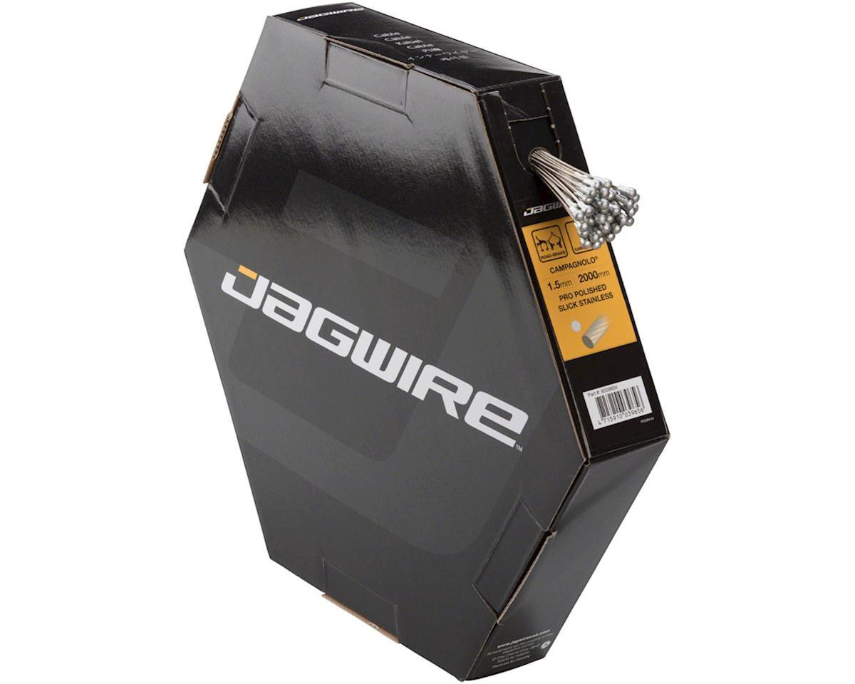 Jagwire Pro Brake Cable 1.5x2000mm Pro Polished Slick Stainless Campagnolo, Box