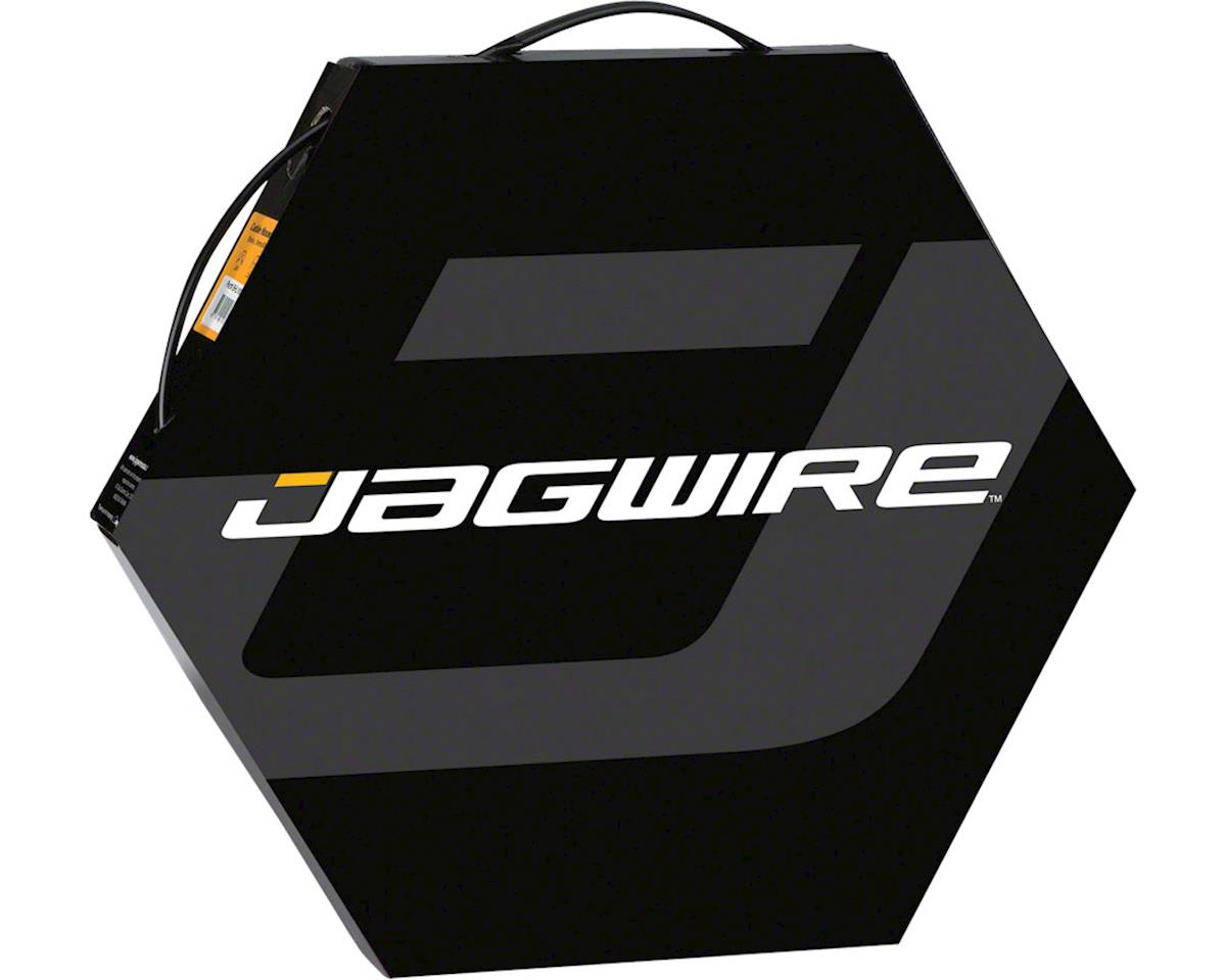 Jagwire 4mm Basics Derailleur Housing 50M File Box, Black