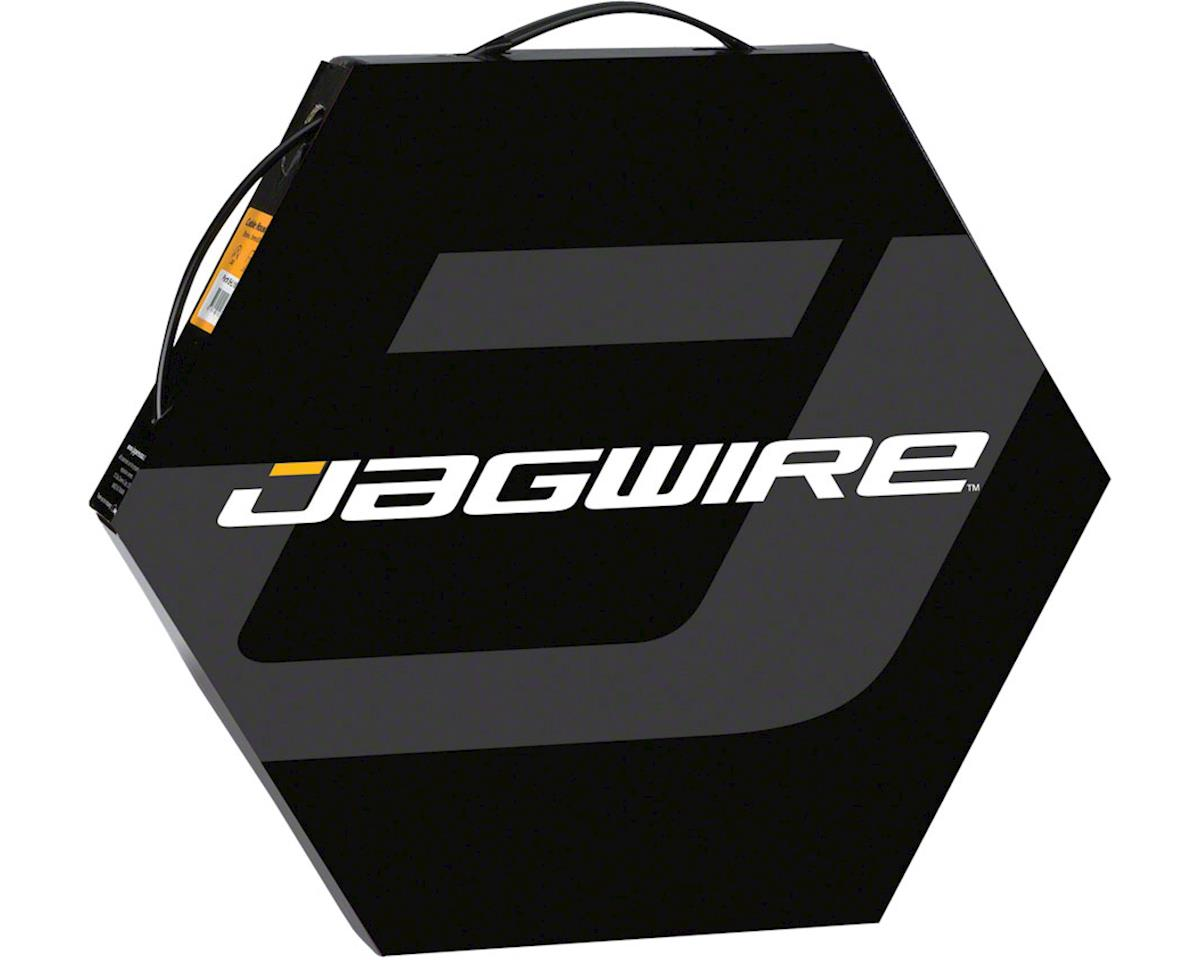 Jagwire 4mm Basics Derailleur Housing 50M File Box, Ice Gray