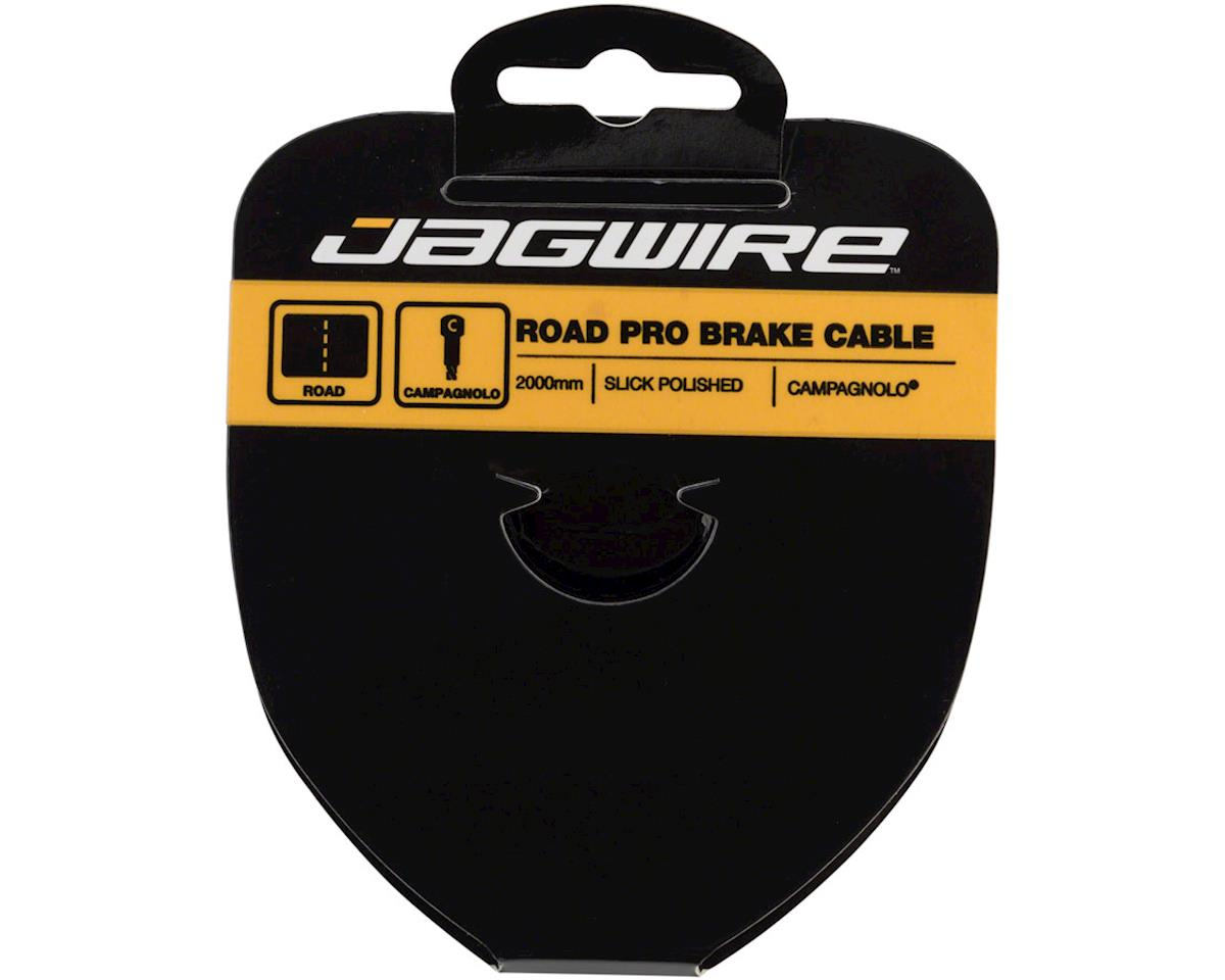 Jagwire Pro Brake Cable 1.5x2000mm Pro Polished Slick Stainless Campagnolo
