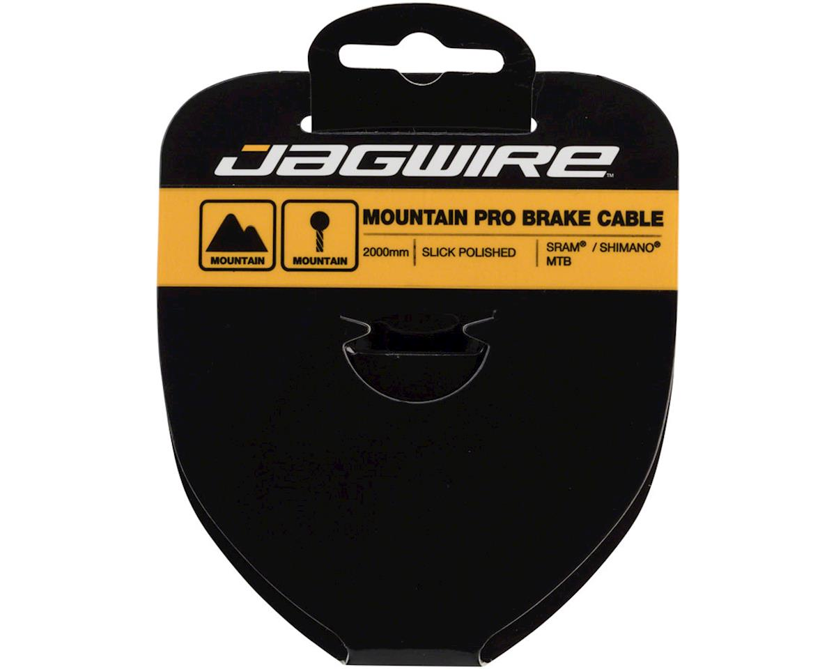 Jagwire Pro Brake Cable 1.5x2000mm Pro Polished Slick Stainless SRAM/Shimano MTB