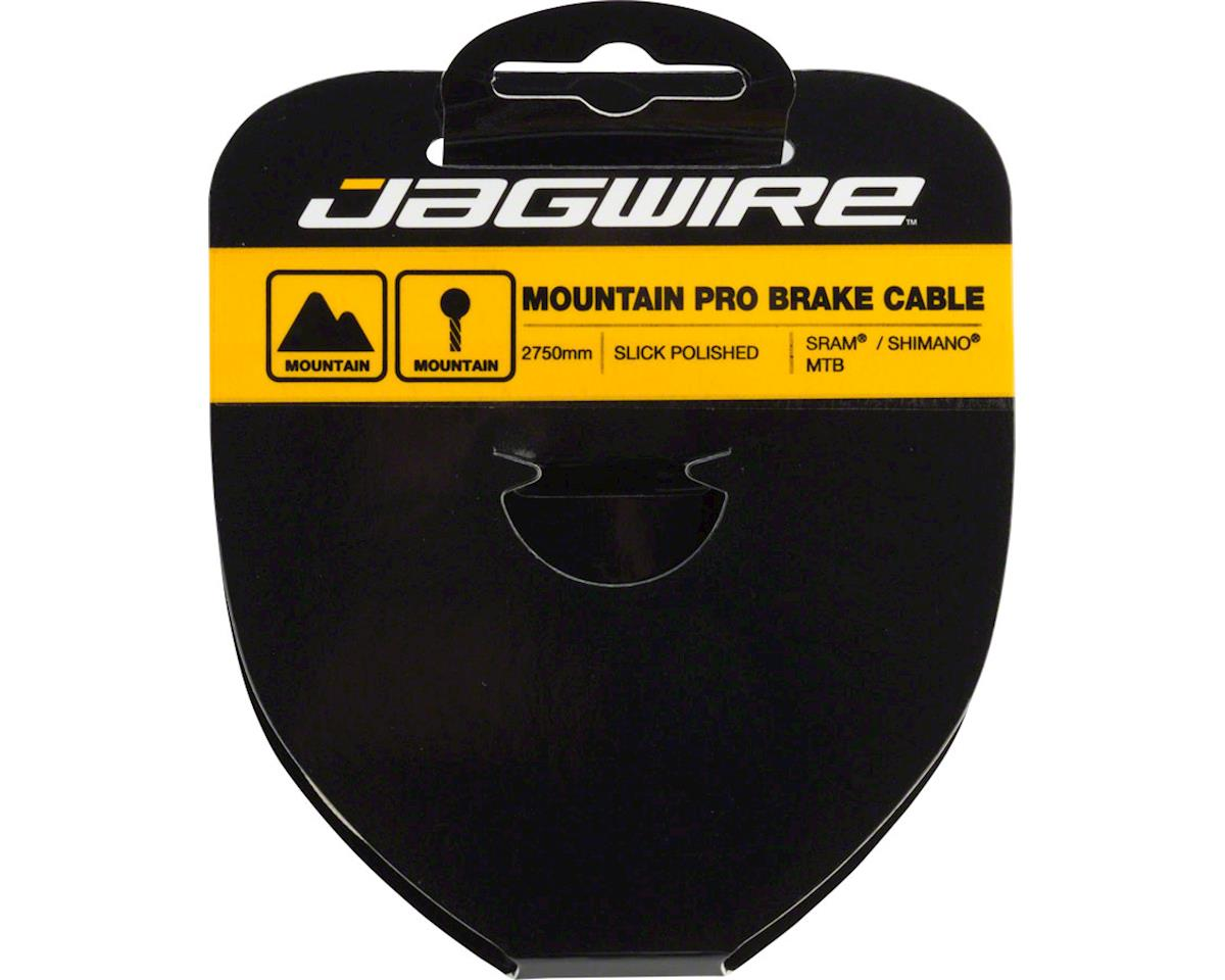 Jagwire Pro Polished Slick Stainless Mountain Brake Cable 1.5x2750mm SRAM/Shiman