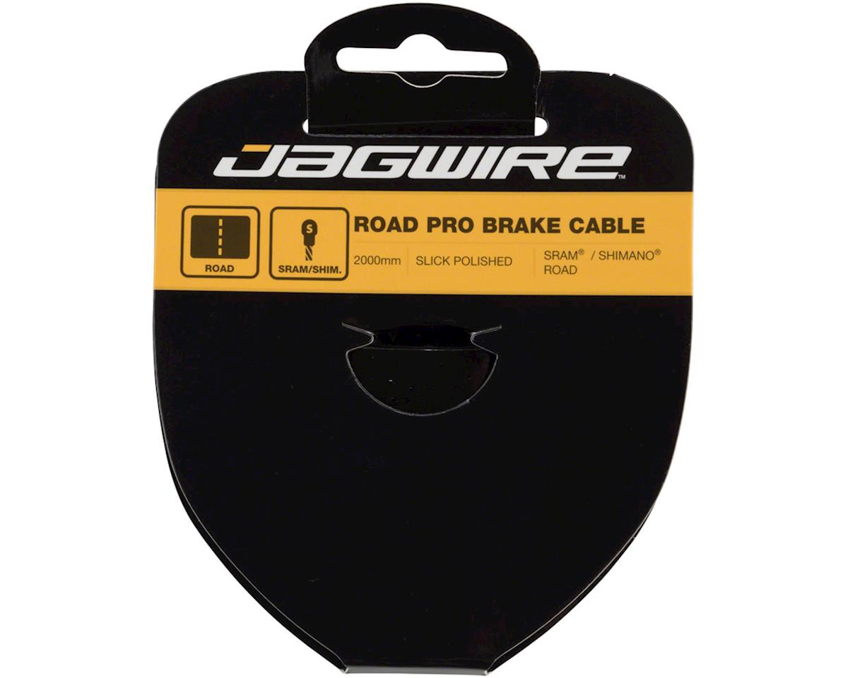 Jagwire Pro Brake Cable 1.5x2000mm Pro Polished Slick Stainless SRAM/Shimano Roa