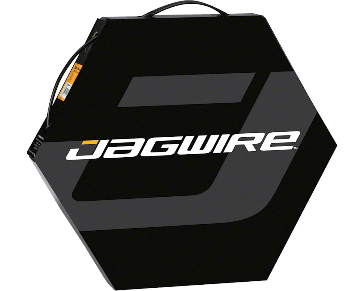 Jagwire 5mm Sport Derailleur Housing with Slick-Lube Liner 50M File Box, Black
