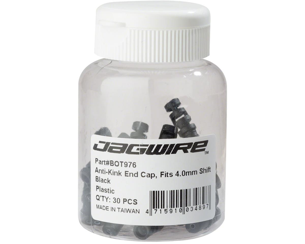 Jagwire 4.0mm Shift Anti-Kink Housing End Cap Bottle of 30