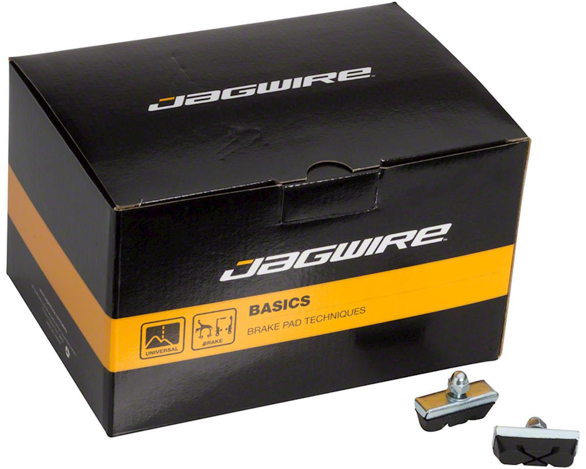 Jagwire Basics X-Caliper Brake Pads Threaded Black Box of 50 Pairs