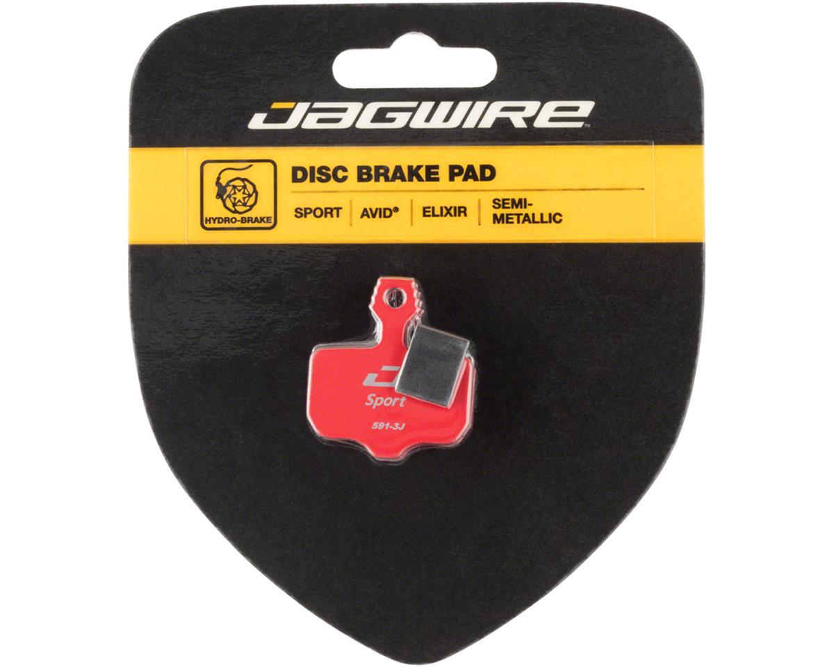 Jagwire Mountain Sport Semi-Metallic Disc Brake Pads for Avid Elixir R, CR1, 3,