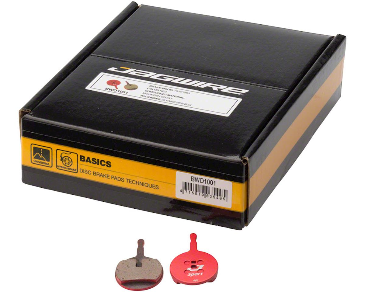 Jagwire Mountain Sport Semi-Metallic Disc Brake Pads for Avid BB5: Box of 25 Pai