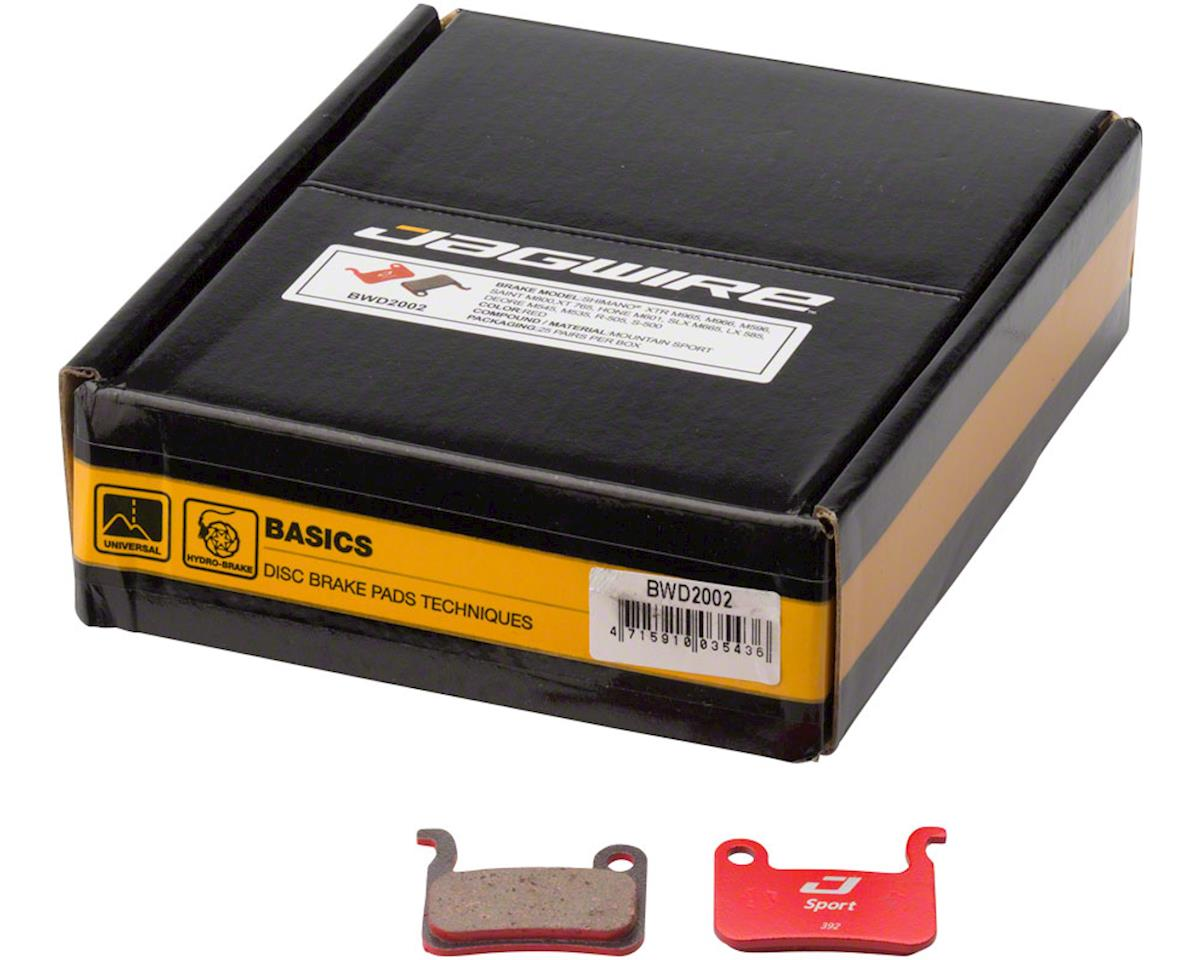 Jagwire Sport Semi-Metallic Disc Brake Pads - Bulk Box, For Shimano XTR M965/M96 | relatedproducts