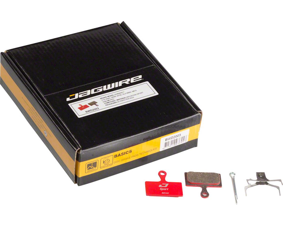 Jagwire Sport Semi-Metallic Disc Brake Pad - Bulk Box, Shimano S700, M615, M6000