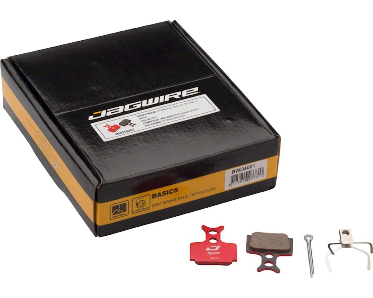 Jagwire Mountain Sport Semi-Metallic Disc Brake Pads for Formula RR1, R1R, R1, R