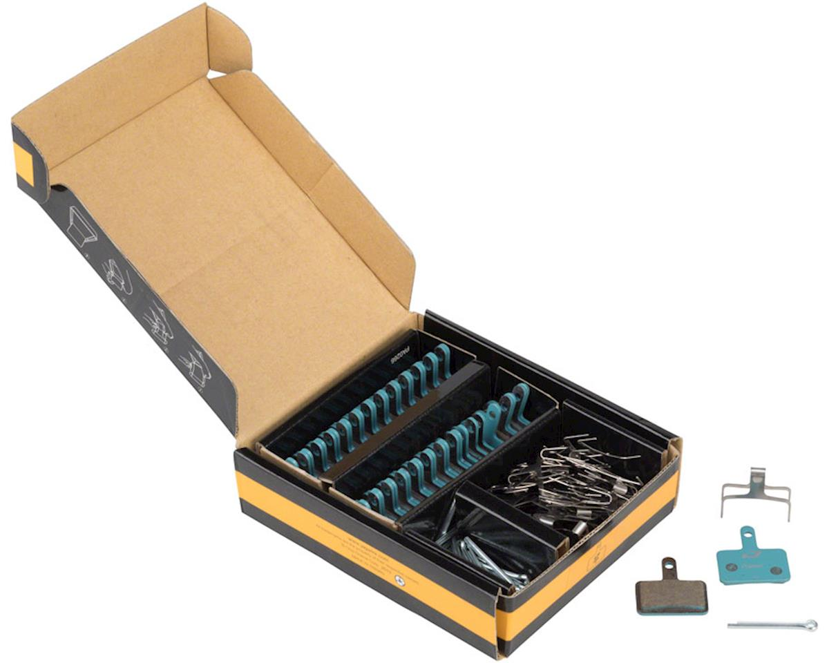 Jagwire Sport Organic Disc Brake Pads - Bulk Box, For Shimano Acera M3050, Alivi