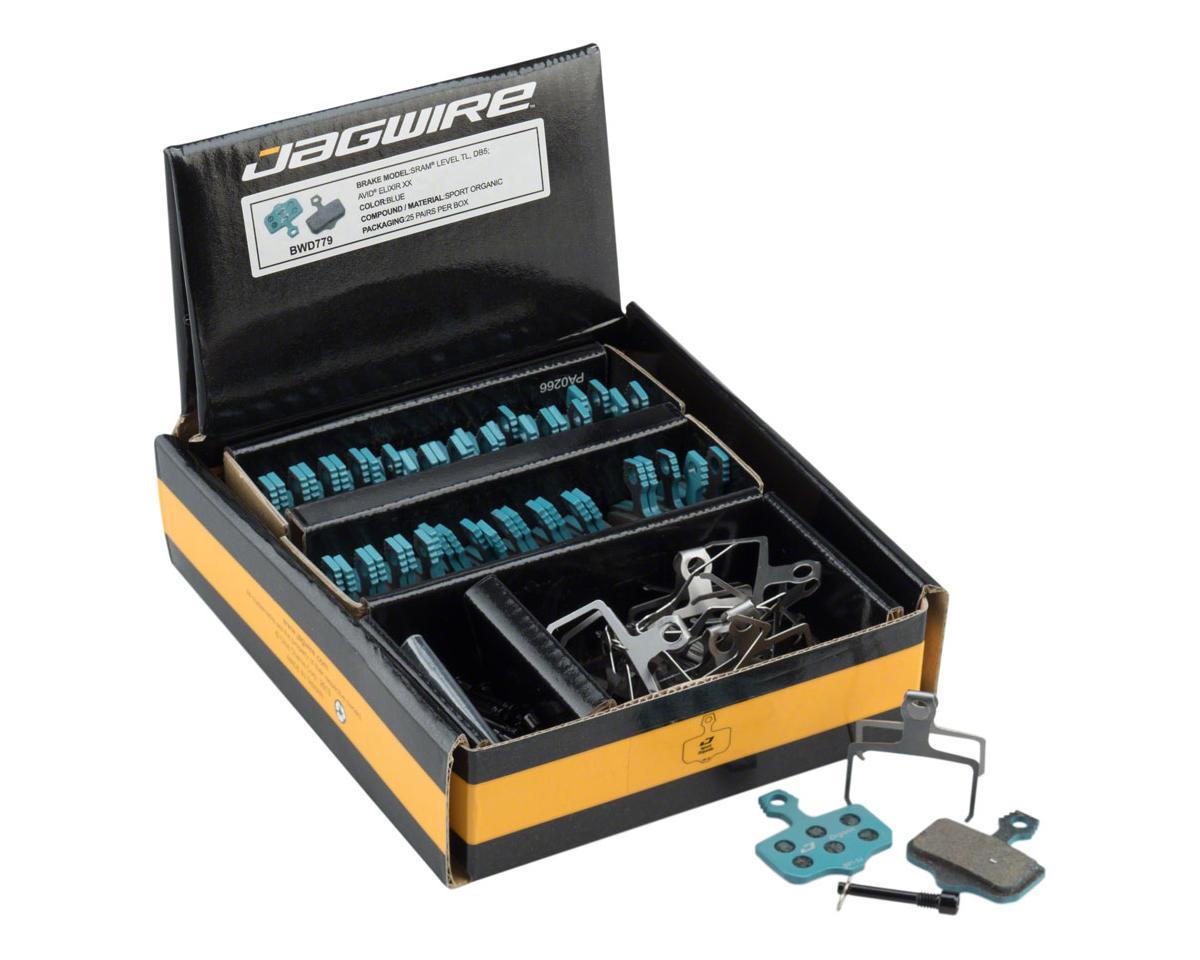 Jagwire Sport Organic Disc Brake Pads for SRAM Level TL, T, DB5, DB3, DB1, Avid