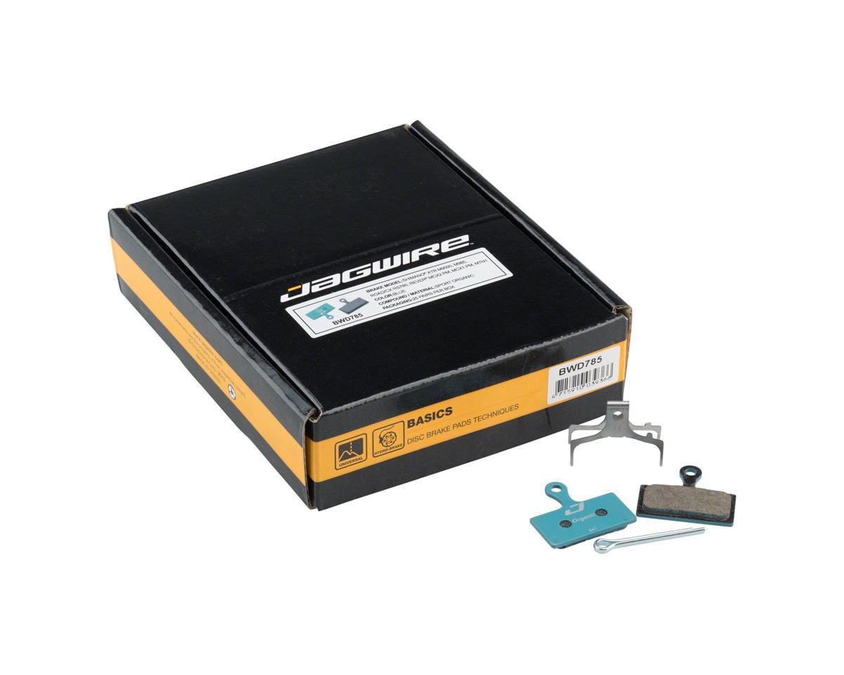 Jagwire Sport Organic Disc Brake Pads - Bulk Box, For Shimano S700, M615, M6000,