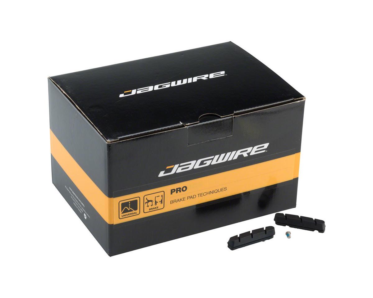 Jagwire Road Pro S Brake Pad Inserts SRAM/Shimano Box of 50 Pairs, Black