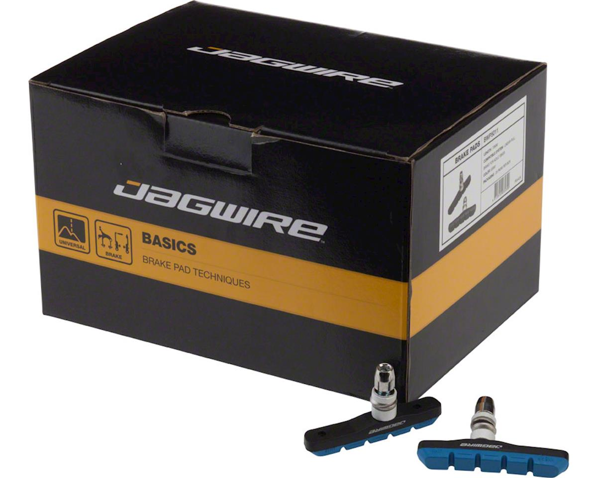 Jagwire Mountain Sport Brake Pads Threaded Post Box of 25 Pair, Blue