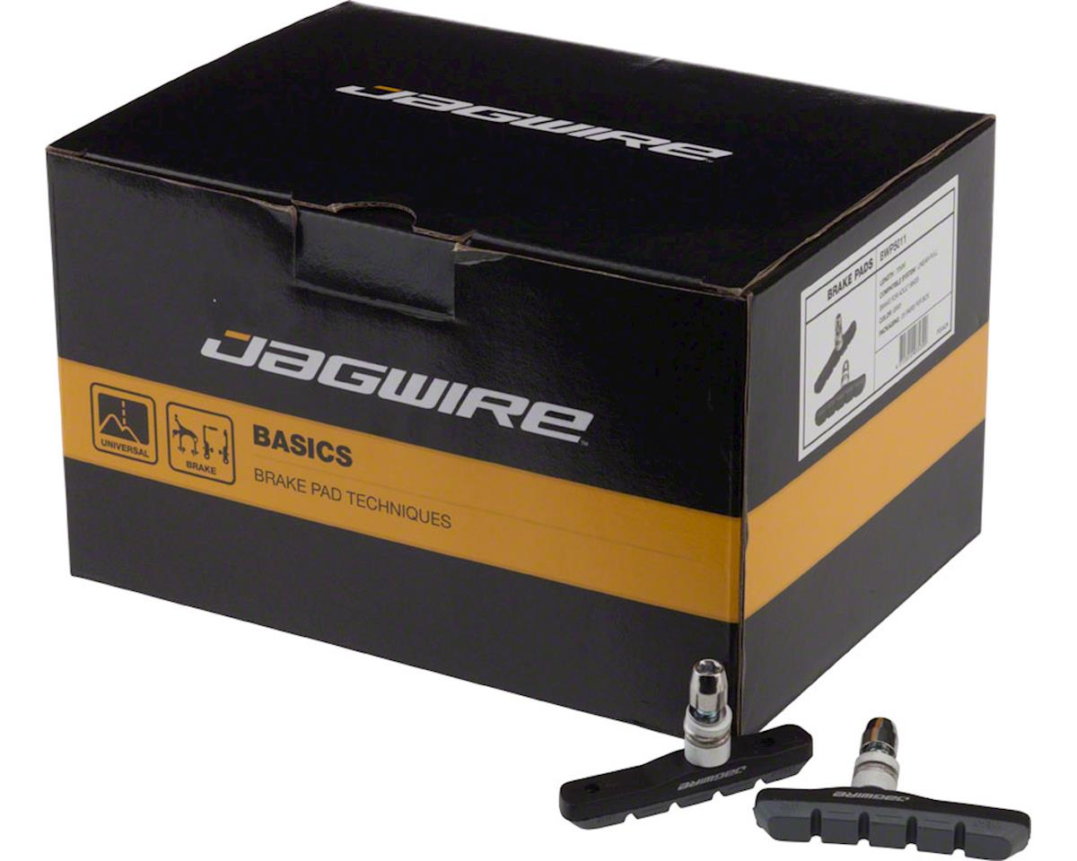 Jagwire Mountain Sport Brake Pads Threaded Post Box of 25 Pair, Gray
