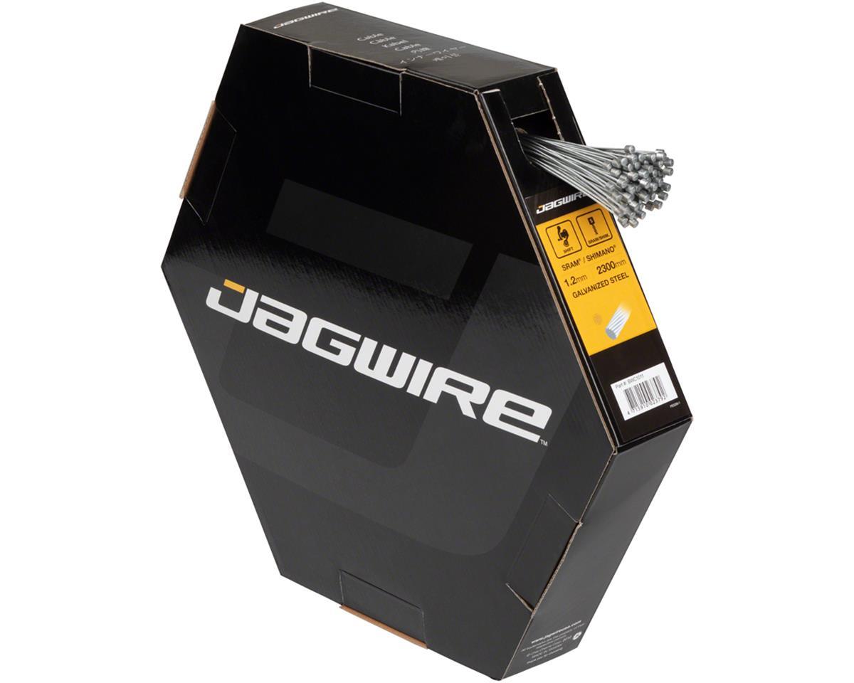 Jagwire Basics Derailleur Cables Galvanized 1.2x2300mm Box/100 SRAM/Shimano