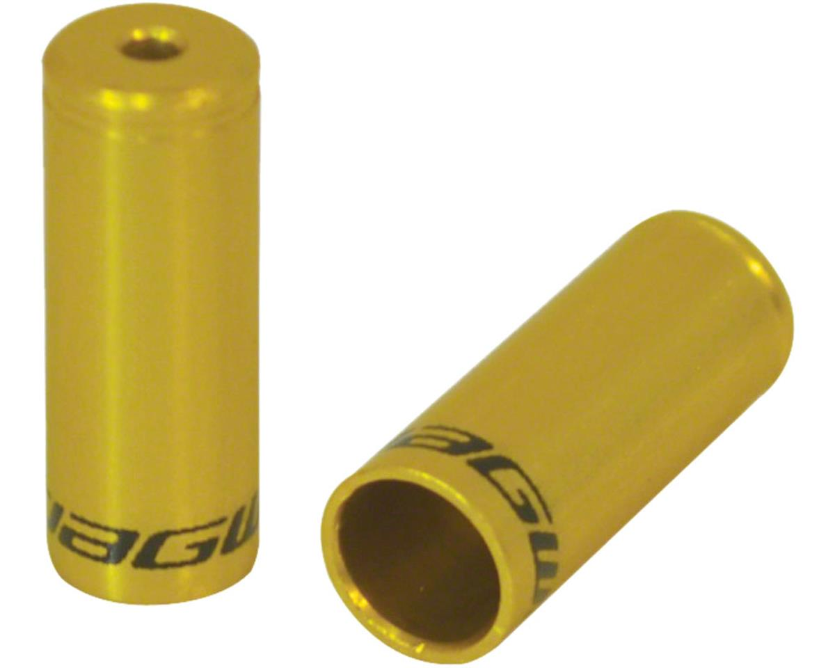 Jagwire End Cap Hop-Up Kit 4mm Shift and 5mm Brake, Gold